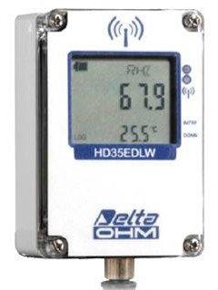 HD35EDW17PTC outdoor temperature & humidity data logger