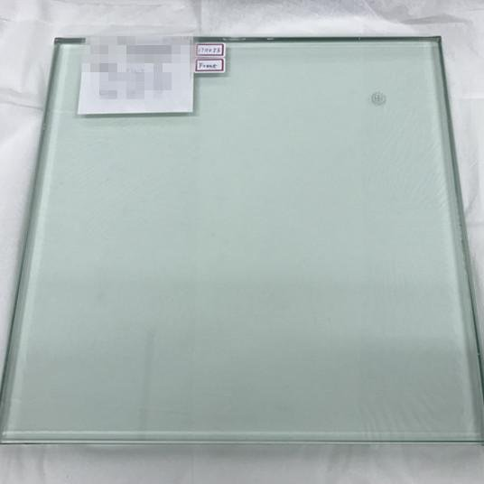 A glass sample