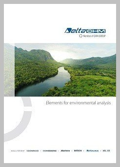 Delta Ohm Elements for environmental analysis brochure