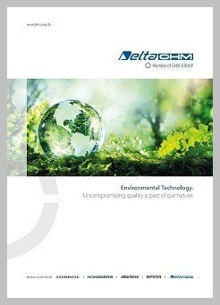 Delta Ohm Environmental Technology brochure