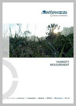Delta Ohm humidity measurement brochure