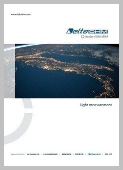 Delta Ohm light measurement brochure
