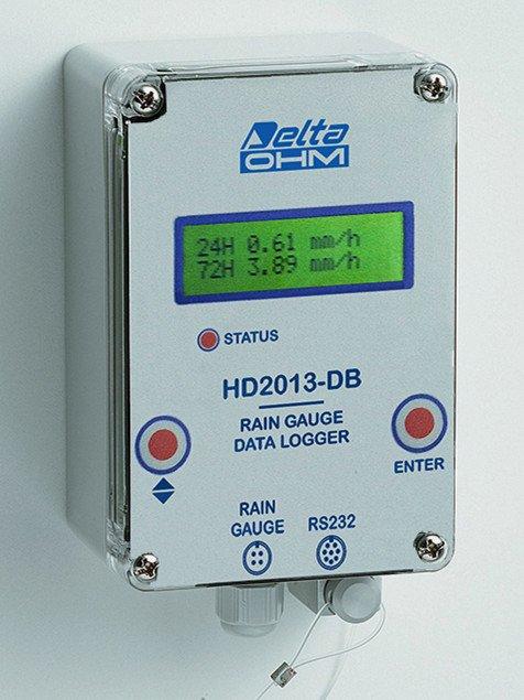 HD2013-DB rain gauge data logger