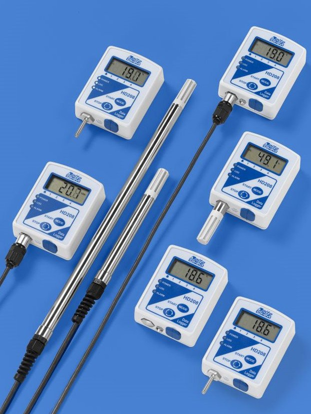 HD208 compact temperature & humidity data logger