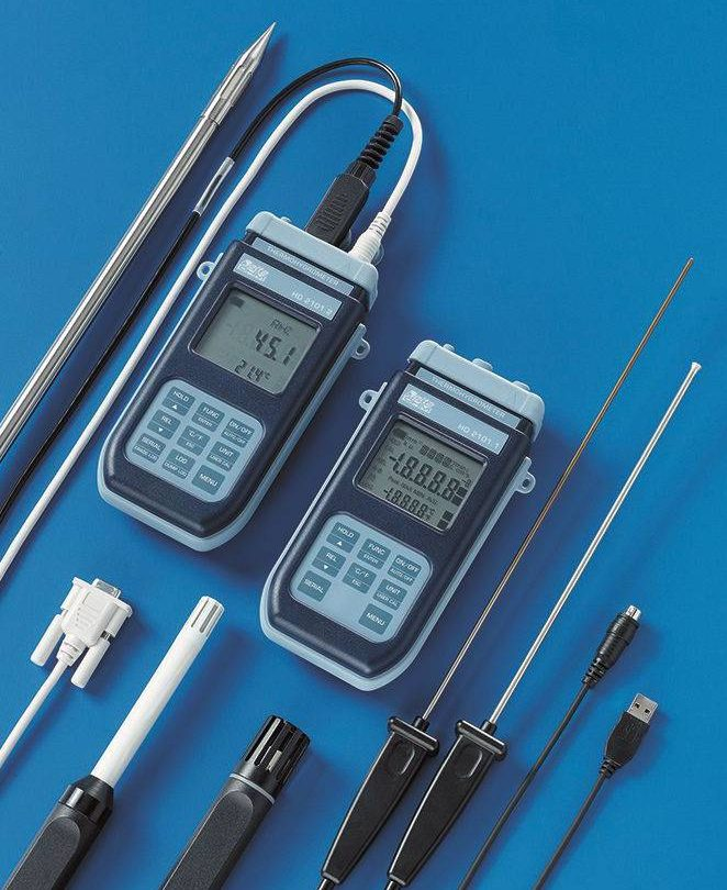 Delta Ohm temperature & humidity measurement instruments