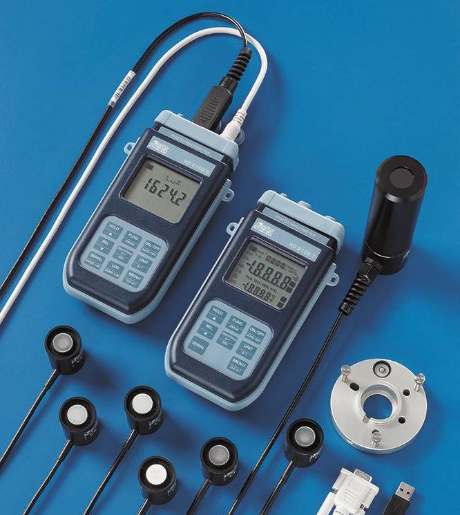 Delta Ohm light & radiation measurement instruments