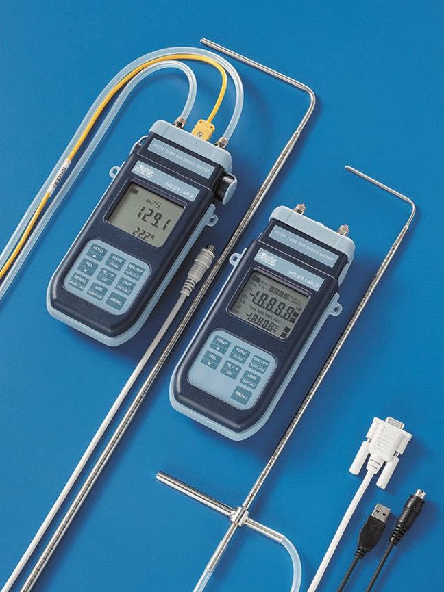 HD2114P.0 pitot tube air speed meter