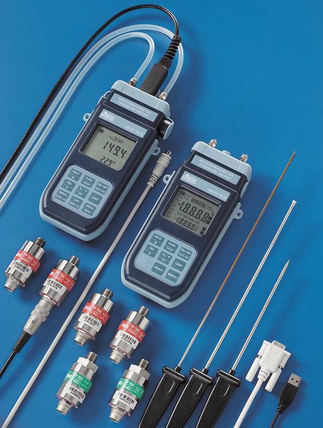 Delta Ohm pressure transmitters