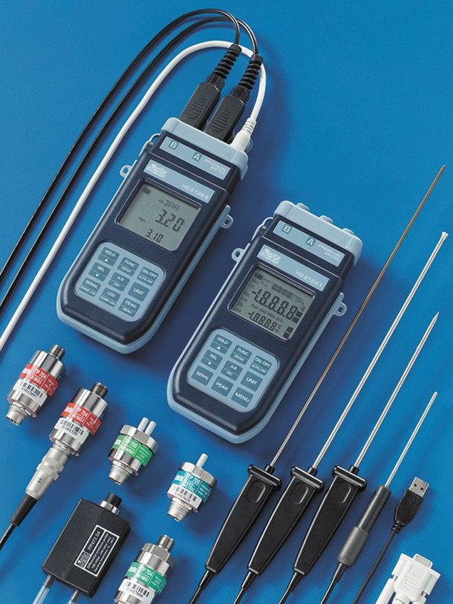 HD2124.2 manometer-thermometer