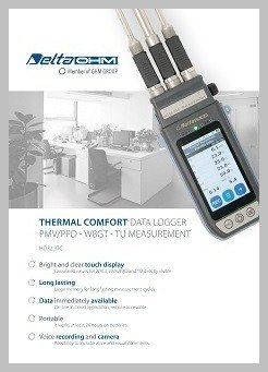 HD32.3TC thermal comfort data logger data sheet