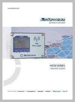 HD50 web data logger data sheet