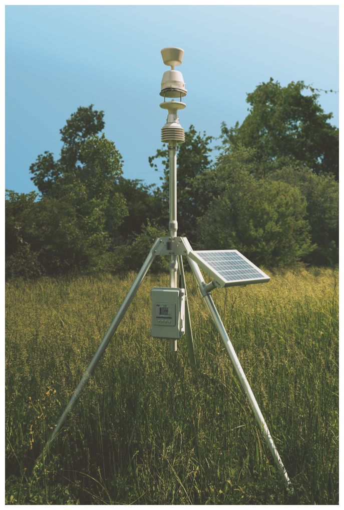 Delta Ohm all-in-one weather station system