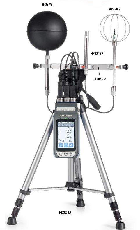 Delta Ohm thermal comfort (PMV/PPD, WBGT) measurement instruments