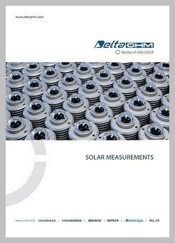 Delta Ohm solar measurement brochure